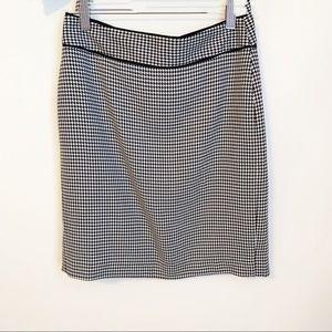 Banana Republic Women's houndstooth Pencil Skirt